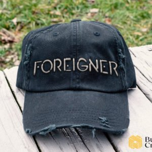 Foreigner band Embroidered Hat, Distressed Baseball Cap - Collection 3D Full Printing I2D2
