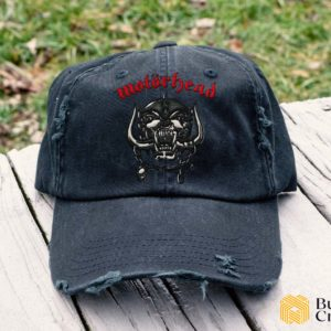 Motorhead Embroidered Hat, Distressed Baseball Cap - Collection 3D Full Printing I2D3