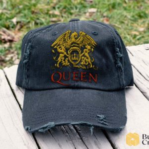 Queen Embroidered Hat, Distressed Baseball Cap - Collection 3D Full Printing I4D4